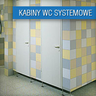 Kabiny WC systemowe